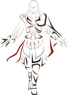 Ezio Auditore da Firenze by Tatouage Assassins Creed, Assassins Creed Art, Assassian Creed, All Assassin's Creed, Pencil Art Drawings, Easy Drawings, Desenho Do Assassin's Creed, Husband Tattoo, Human Body Drawing