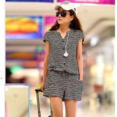 ygr® mujeres más tamaño causal pantalones cortos de impresión mono (más colores) – USD $ 13.79