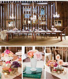 Wedding & Bridal Fashion Blog | Allure Bridals - Jessica + Travis' Shabby Chic Wedding - Photos by Cameron Ingalls
