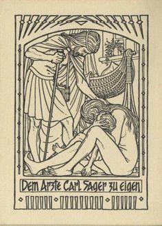 Ex libris - Carl Sager