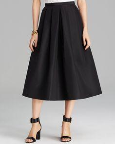 Tibi Skirt - Silk Faille