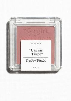 & OTHER STORIES A soft blusher powder for adding sun-kissed colour to your face. 5.5 g. #HowToApplyBlusher #AntiAgingHacks #HomemadeBlush Blusher Makeup, Blusher Tips, How To Apply Blusher, Homemade Blush, Best Eye Cream, Makeup Tips For Beginners, Homemade Face Masks, Anti Aging Tips, Beauty Makeup