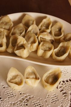 Polish Recipes, Polish Food, Dumplings, Food Dishes, Waffles, Stuffed Mushrooms, Food And Drink, Treats, Vegetables
