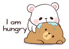 Bear Couple : Milk & Mocha sticker #12265850