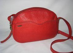 KORET Handbag Purse Shoulder Bag Leather Red Vintage  $17 @newandDeJaVU @bonanzamarket