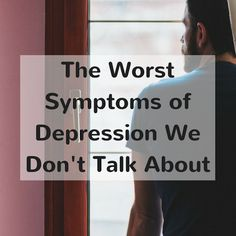 Check out The Worst Symptoms of Depression We Don't Talk About on TheMighty.com