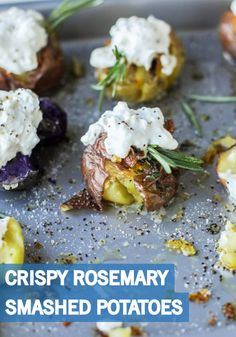 smashed potatoes crispy smashed potatoes wasabi smashed potatoes ...