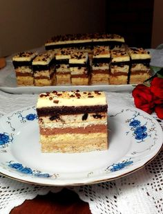 Cake Bars, Tiramisu, Cake Recipes, Sweets, Cookies, Ethnic Recipes, Food, Beverages, Crack Crackers