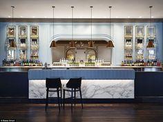 The best cafe, restaurant and bar interiors of 2015 - Vogue Living - Bates Smart for InterContinental Double Bay Bar Design Awards, Interior Design Awards, Bar Lounge, Hotel Restaurant, Restaurant Design, Architecture Restaurant, Interior Architecture, Cafe Bar, Australian Restaurant