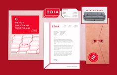 Design | Branding & Strategy | Letterhead, Business Cards, Envelopes and Postcards | EDIA