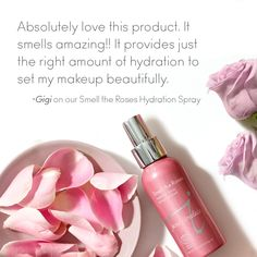 Our cheeks are as rosy as the scent of this Hydration Spray after reading this wonderful review.