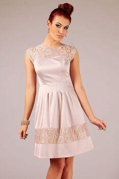 Beige Vera Fashion Dresses