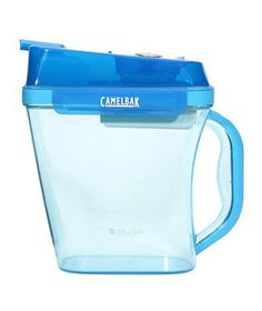6 Clever Items to Simplify Your LifeCamelbak Relay  This pitcher features a long-lasting (up to four months!) filter that purifies tap water as fast as the faucet flows. Bonus: As you pour, water is filtered a second time to remove chlorine, taste, and odors.  To buy: $37, camelbak.com.