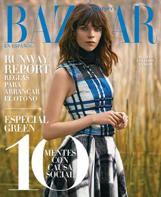 Harper's Bazaar Mexico August 2014