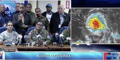 Rueda De Prensa Del COE En Vivo De Noticias SIN Cobertura Huracán Irma