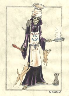 "Discworld ""Kiss the Cook""by ~Catskind"