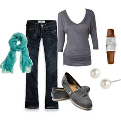 casual, created by ohsnapitsalycia on Polyvore