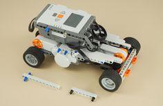 NXT Race Car Lego Nxt, Lego Robot, Robots, Lego Mindstorms, Lego Technic, Robotics Projects, Love Math, Team Fortress, Arduino