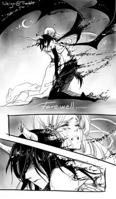 Farewell... Ulquiorra. Don't cry darling... I'll not dead, just taking a break from living. I promise.