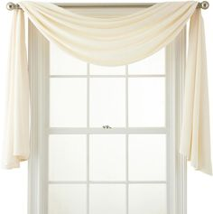 Royal Velvet Ally Window Scarf Valance