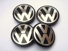 VW Wheel Centre Caps 65mm Set of 4