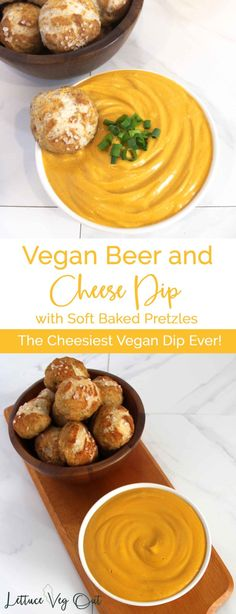 Vegan Beer and Cheese Dip Recipe. This vegan beer and cheese dip is easy and nutritious. Simply soak cashews, cook veggies, and blend everything together. Try it dipped with pretzel bites, crackers, or your favourite veggies! Easy Vegan Cheese Recipe, Cheese Dip Recipes, Vegan Cheese Sauce, Healthy Vegan Snacks, Vegetarian Appetizers, Vegan Foods, Appetizer Recipes, Beer Cheese, No Dairy Recipes