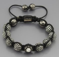 africa handmade shamballa bracelet with silver CZ crystal beads // Price: $14.24 & FREE Shipping Worldwide //     #shoes #heels #styles #outfit #purse #jewelry #shopping #glam