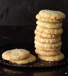 Lemon-Lime Basil Shortbread Cookies  Sprinkle these simple cookies with sanding sugar and serve them with ice cream. Or leave off the sugar and serve with tea for a more savory option.