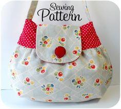 Pixie Handbag PDF Sewing Pattern by michellepatterns on Etsy