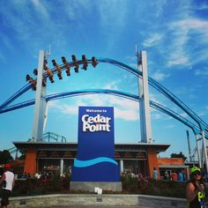 "Voted ""Best Amusement Park in the World"" for four consecutive years.  14 roller coasters, America's tallest and fastest roller coasters.  Sandy Lake Erie beaches, restaurants, musical shows and water slides."