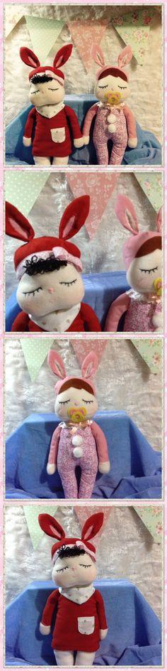 Muñequitas de tela. Fabric dolls. Inspired in metoodolls.