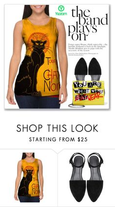 """""""Black Cat - Yizzam"""" by amra-mak ❤ liked on Polyvore featuring Jimmy Choo"""
