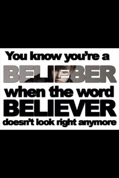 """I am a belieber always! And I'm not even joking, the word """"believer"""" doesn't even look right to me.but after being a belieber it's amazin.he make me believe in my dreams. Love him Justin Bieber Quotes, All About Justin Bieber, I Love Him, Love You, My Love, Bae, To My Future Husband, My World, Love Of My Life"""