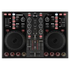 Reloop Mixage IE MK2 - Small size and small price, but again those jog wheels are in the way.