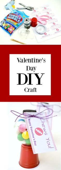 Nothing says love more than a homemade valentine. This quick and easy (but oh-so-cute) craft for Valentine's Day is perfect for gifting to classmates in a nut-free classroom or even just sharing with that special someone. via @WisconsinMommy
