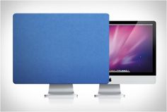 IMAC SCREEN COVER | BY RADTECH - http://www.the-tech-blog.com/imac-screen-cover-radtech-2/