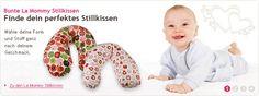 Bunte La Mommy Stillkissen in vielen verschiedenen Formen erhältlich