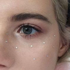 diamond freckles! Wasn't sure at first but then I thought of girls on their prom nights and it could look fun.....: