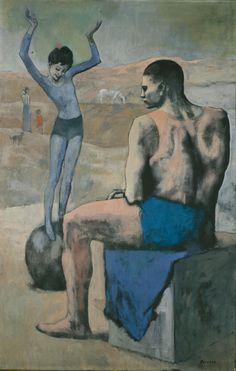 Pablo Picasso, 1905, Acrobate à la Boule (Acrobat on a Ball) 1905
