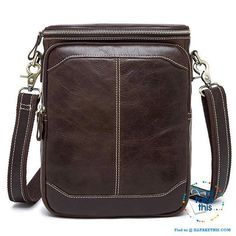 Genuine Leather Messenger bag Man bag with enough room to take your  iPad Android Tablet. Crossbody Shoulder BagCrossbody BagsLeather ... 5e330771bc5e9