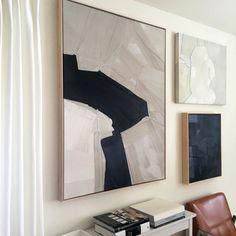 Inspired by (Anna gillar) Art Actuel, Art Decor, Decoration, Diy Canvas Art, Deco Design, Office Art, Art Furniture, Wall Art Designs, Large Art