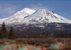 shasta | Shasta is from US Highway 97 near Shastina Lake. Note how Mt. Shasta ...
