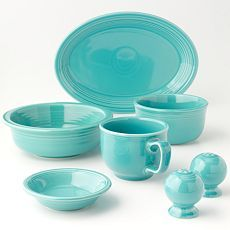 For our white kitchen with turquoise and yellow accents