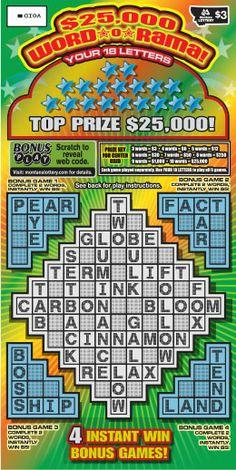 $25,000 Word O Rama
