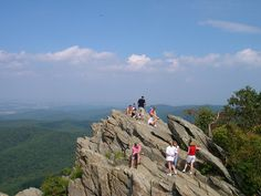 Humpback Rock.  Where are we?