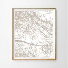 Tree download Scandinavian wall art decor Tree wall art decor Tree wall art print Nature wall print 8X10 Modern printable wall décor