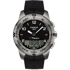 c819da957ed Tissot Male T-Touch Watch T0474204705700 Silver Analog Sale price.  619.95 Tissot  T Touch