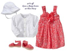 old navy kids clothes Easter Outfit For Girls, Cute Little Girls Outfits, Toddler Outfits, Kids Outfits, Cute Kids Fashion, Girl Fashion, Kids Clothes Sale, Kids Clothing, Old Navy Kids