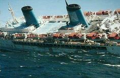Britanis sinks off South Africa in 2000 Abandoned Ships, Abandoned Places, Uss America, Yacht Interior, Train Layouts, Great Lakes, Water Crafts, Nautical Theme, Titanic