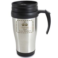 Personalised Crown Travel Mug  from Personalised Gifts Shop - ONLY £14.95